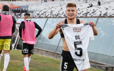Leo Gil no se mueve de Colo Colo